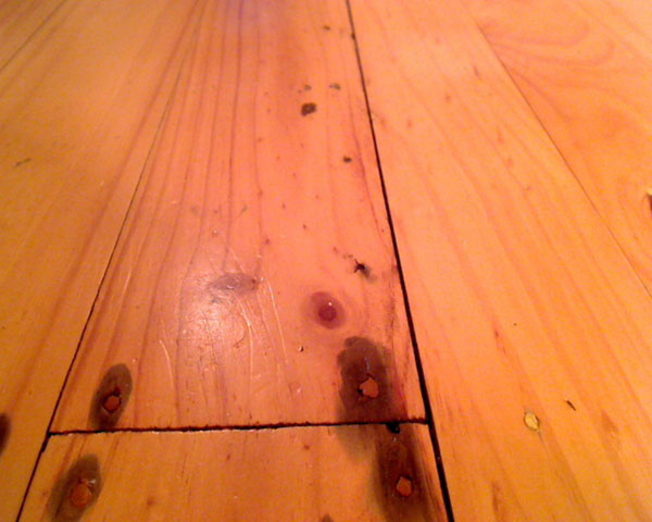 Moisture Rising Into Floorboards