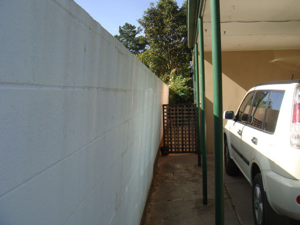 Retaining Wall with no drainage